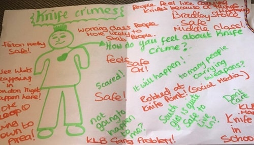 Knife crime among South Gloucestershire children's biggest fears