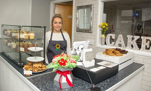 Natalie goes into business - aged 22
