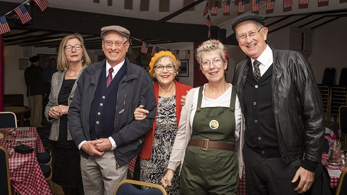 Rotary goes to war in Old Sodbury