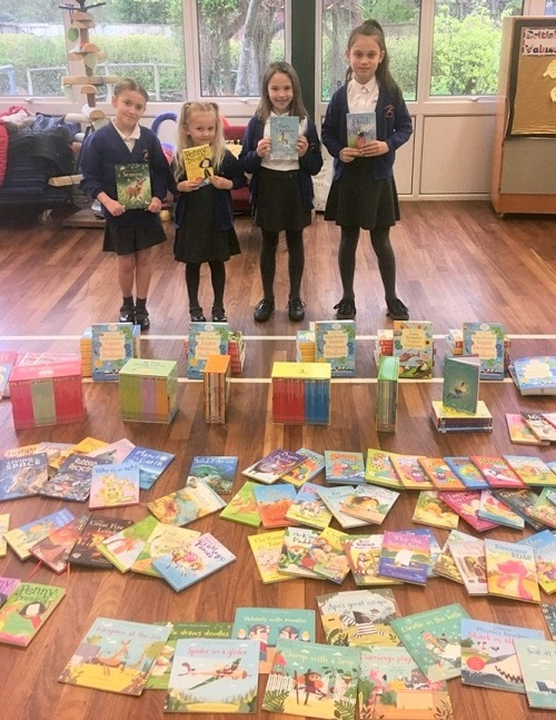 Reading challenge raises £1,500 for new school books