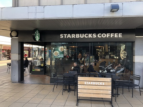 Starbucks leaves Yate