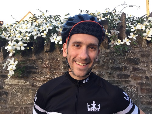 Dan is riding to help the medics who saved his life