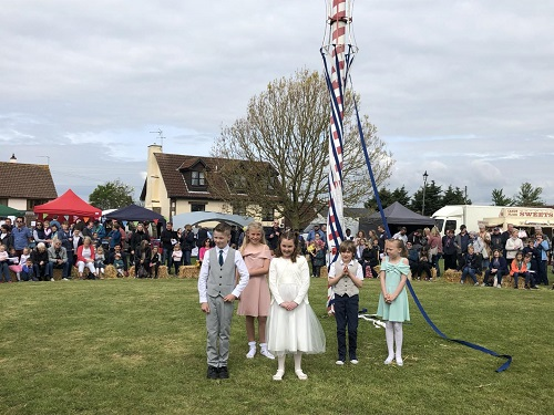 Iron Acton May Day celebrations pull in the crowds