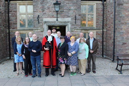 Lib Dems unveil new Yate mayor and thank voters