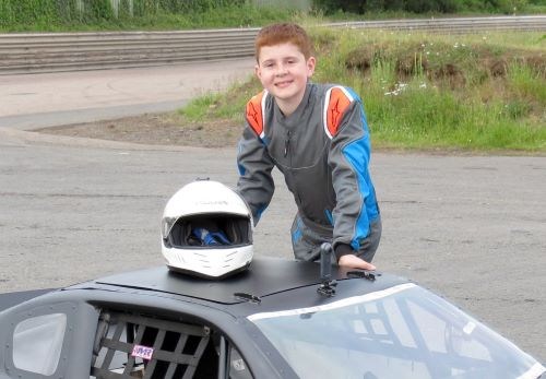 Alfie is racing to success