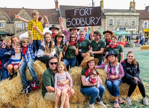 Sodbury spirit beats the downpours at Big Lunch