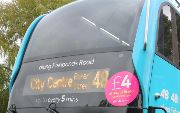 Bus fares going up for First passengers using app and prepaid tickets