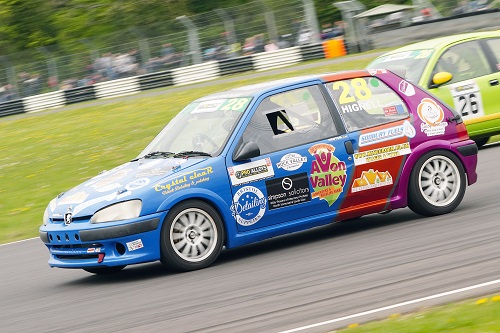 Chris powers on in Saloon Car Championship