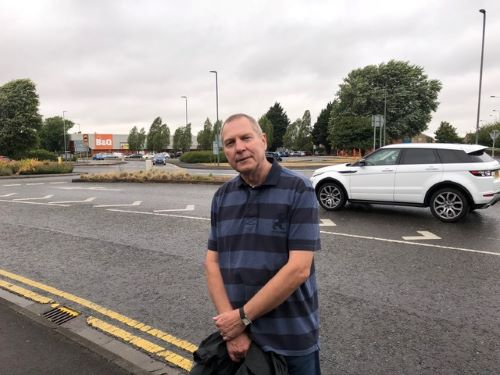 Work underway to improve Yate roundabout