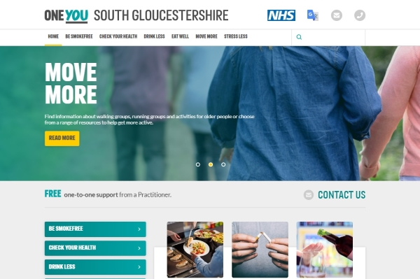 New website for health help in South Gloucestershire