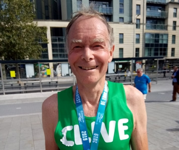 Clive retires from fundraising after smashing £250,000 target