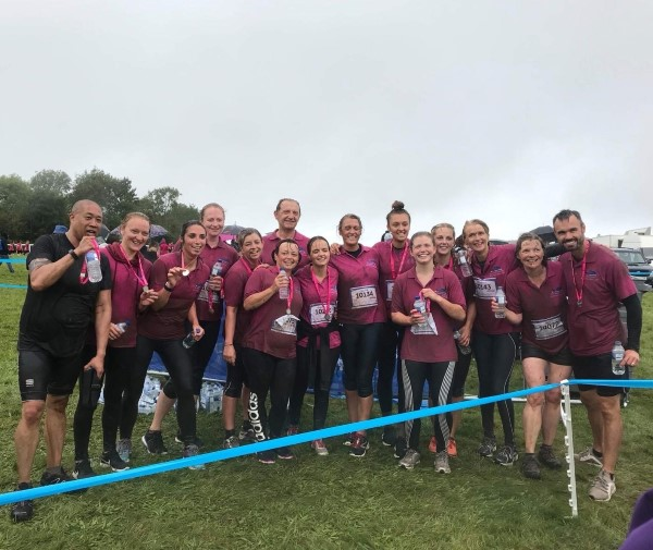 Getting muddy to fight cancer