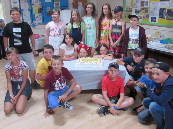 Yate Rotary gives Chernobyl children a day out