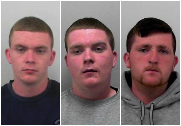 Men jailed for 'incredibly dangerous' theft of cable from railway line