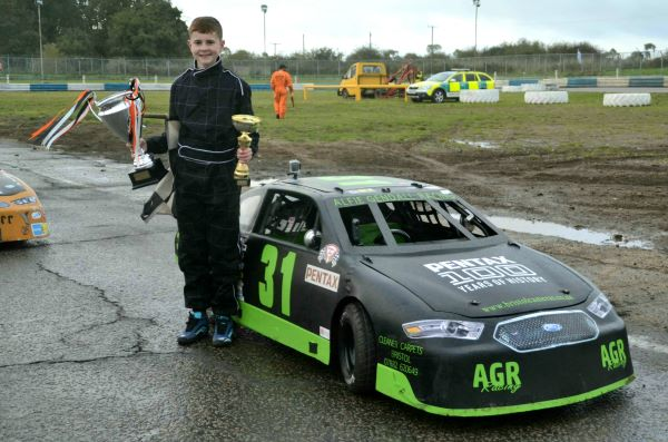 Young driver Alfie Gendall is Junior American Cup Car Racing British Champion