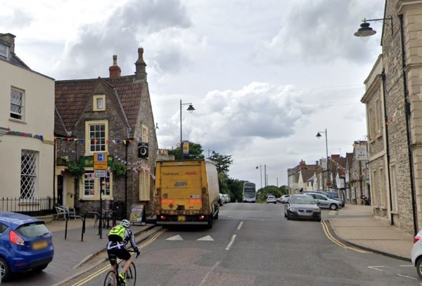 Pedestrian taken to hospital after being injured by car in Chipping Sodbury