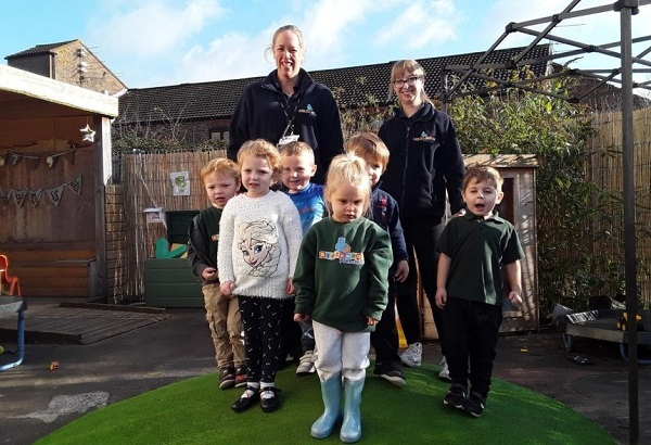 Outdoor learning praised at preschool where children are eager to learn