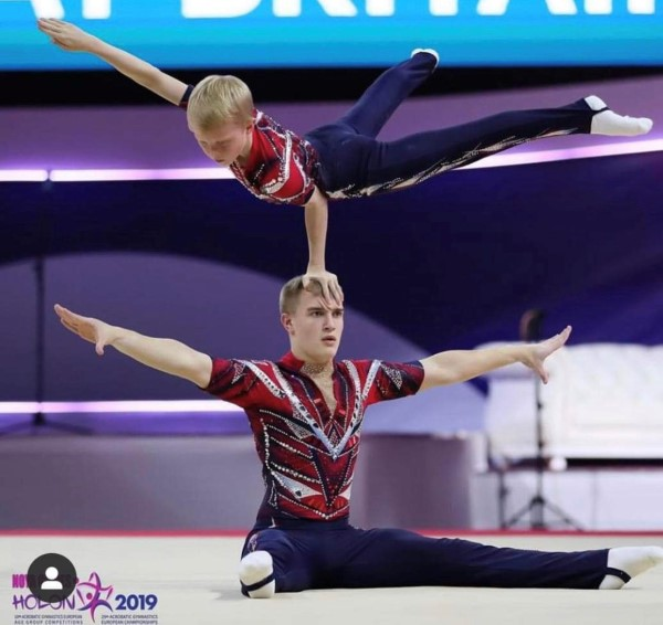 Acrogymnasts bring home silver for Great Britain