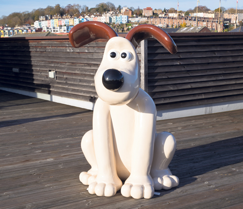 Have a cuppa with Gromit