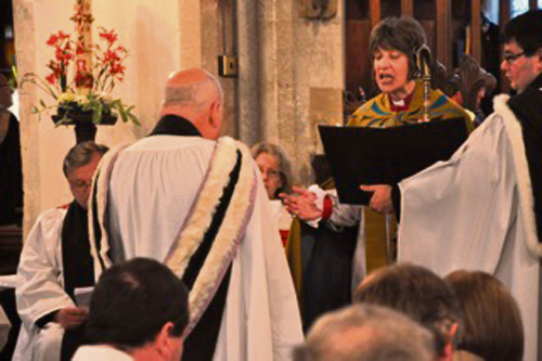 The induction of Rev Canon David Bowers