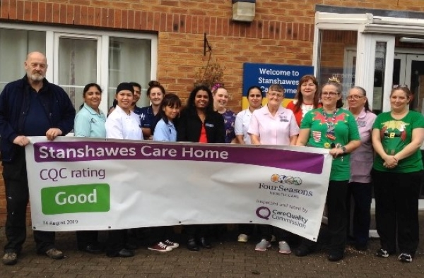 Inspectors praise 'calm and friendly' Yate care home