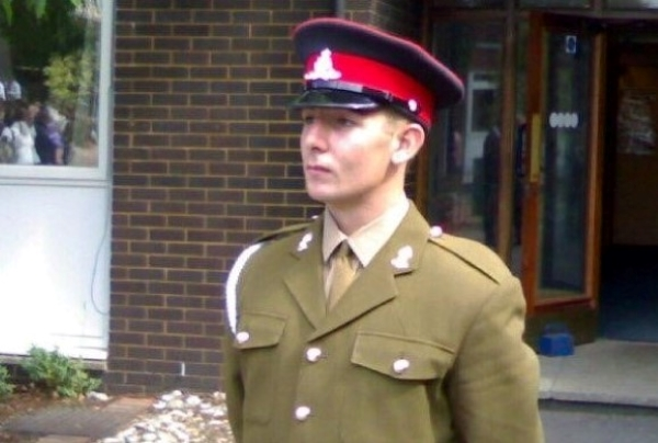 Phill in uniform