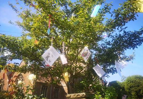 Wishing tree brings hope in Iron Acton