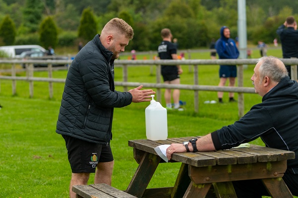 Chipping Sodbury RFC return to training