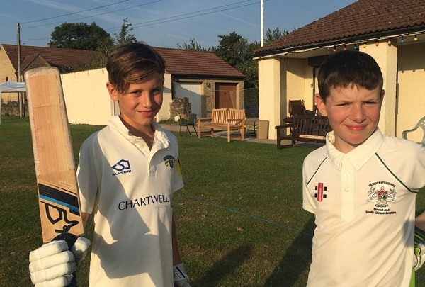 Henry hits a century on his district debut