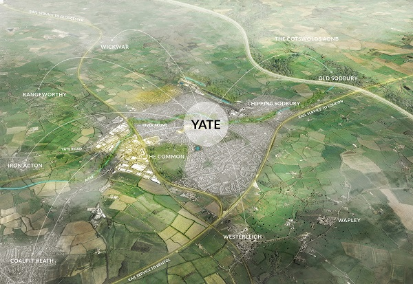 Have your say on the future of Yate with new masterplan