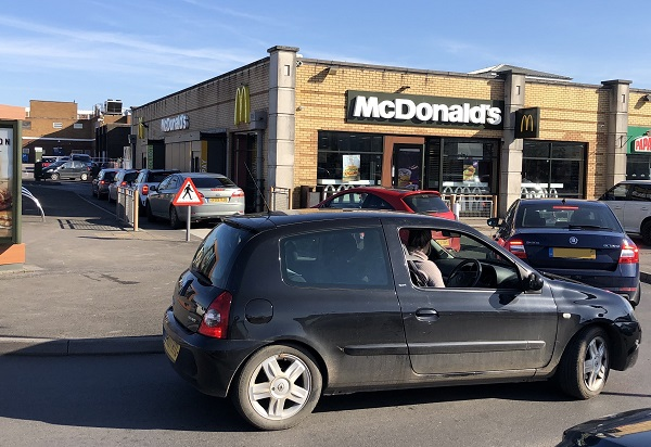 Action planned to stop drive-thru queues blocking Yate Shopping Centre car park