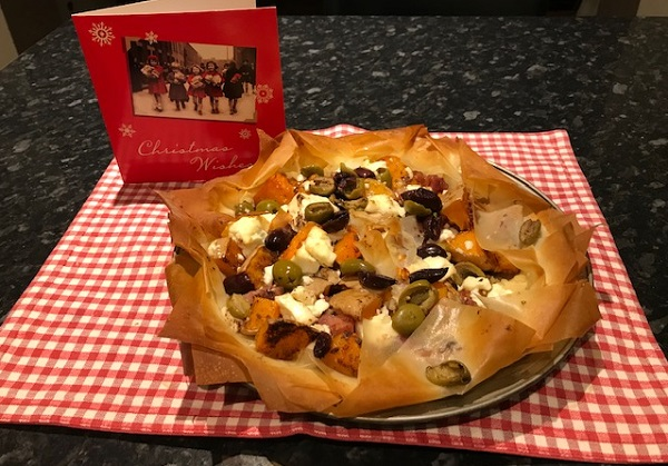 Recipe of the month: Cheese filo star galette