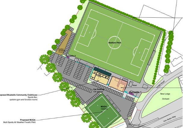 Football club raises stakes on 118-home housing development decision