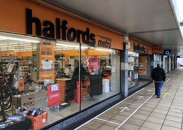 Yate Halfords store to shut, as other shops get ready to reopen