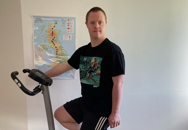 Nick's big ride will help people with learning disabilities and autism