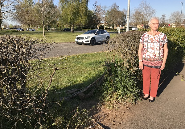 Neighbours 'are worried someone will be killed' using short cut