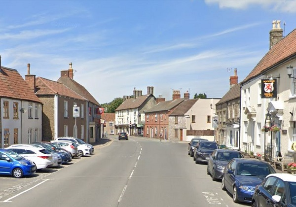 20mph limit and speed humps for village high street