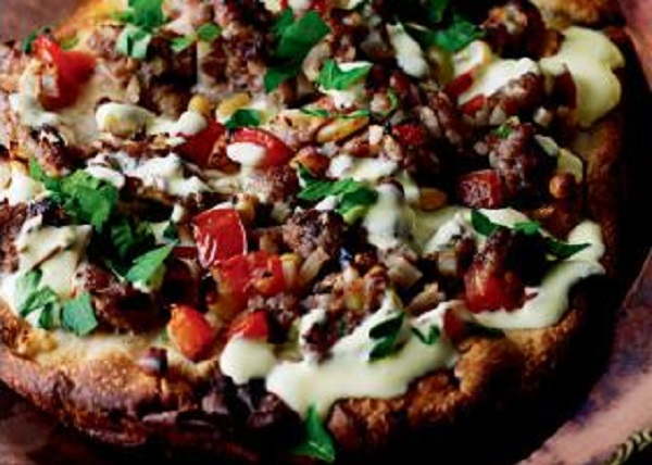 Recipe of the Month: Spiced lamb naan breads