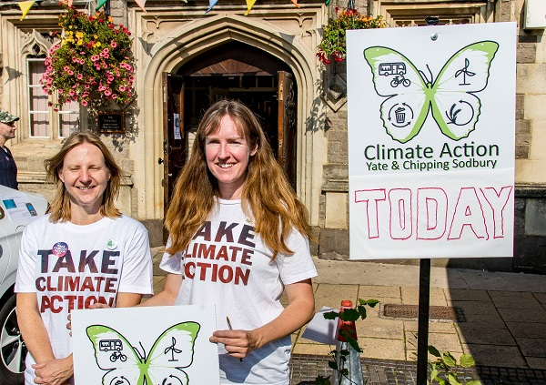 Hundreds visit Chipping Sodbury Climate Fair