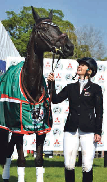 Priceless victory for Jonelle and Classic Moet at Badminton Horse Trials