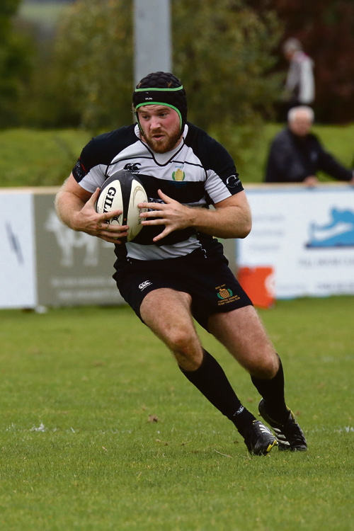 George Barnes in action for Sodbury