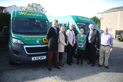 New buses for community transport group