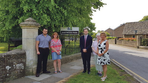 Falfield residents welcome government help with repairs
