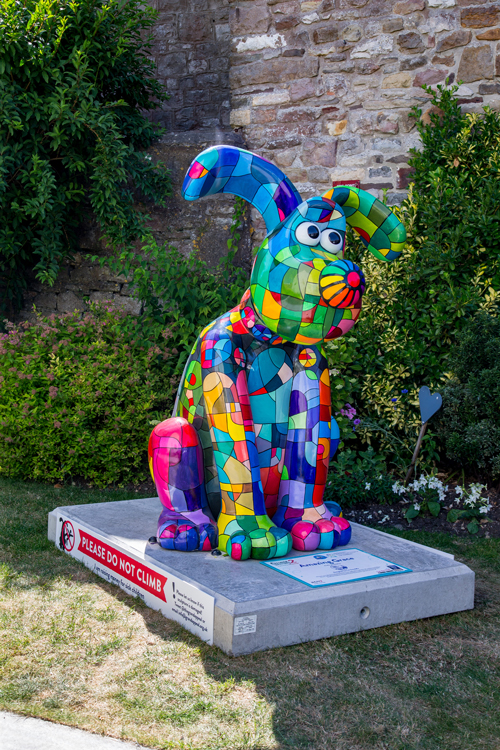 Gromit entices new visitors to Chipping Sodbury