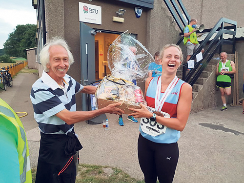 10k race started by local running legend