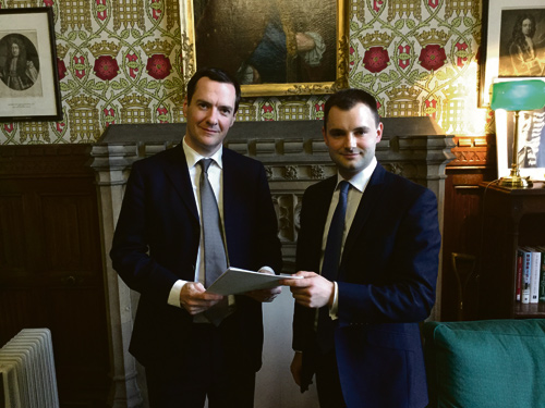 MP meets with Chancellor over 'Road to Nowhere'