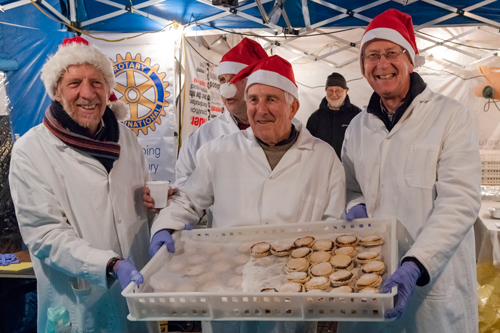 Rotary raise funds at Victorian Day
