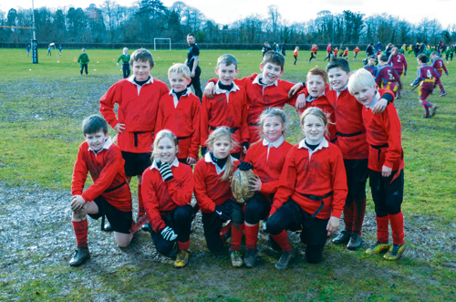 The Ridge Tag-Rugby team