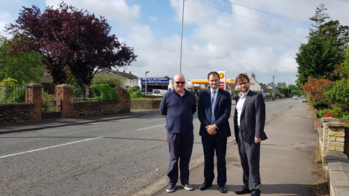 New pedestrian crossing for Westerleigh Road