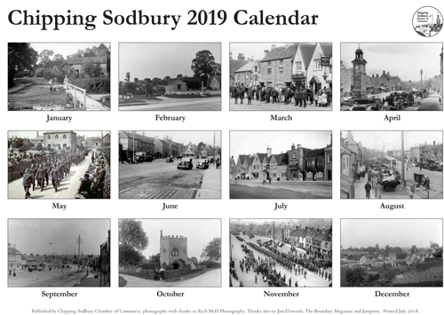 Make a date for the Chipping Sodbury calendar